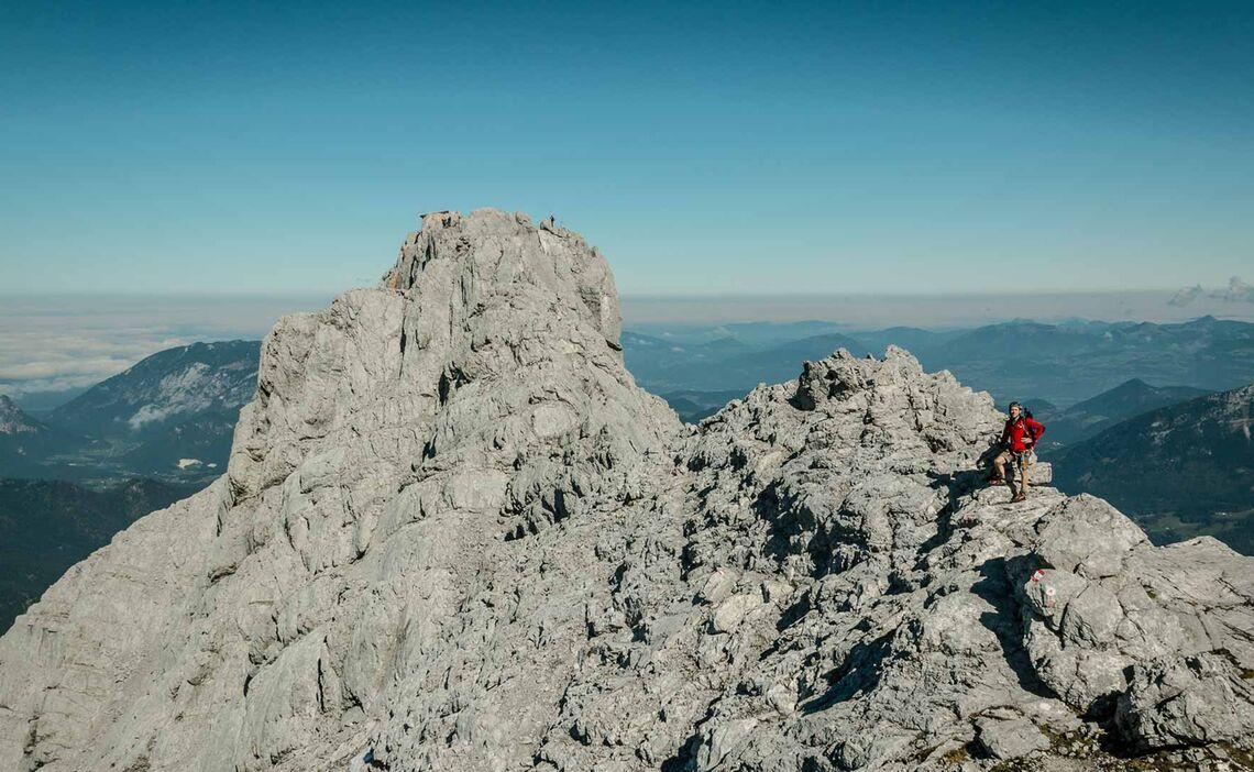 Abstieg Nach Der Watzmann Ostwand