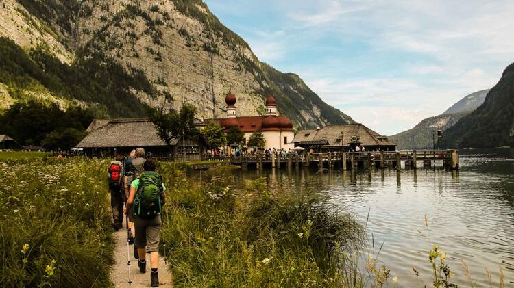 Abstieg Zum Koenigssee Von Funtensee Ueber Die Saugasse
