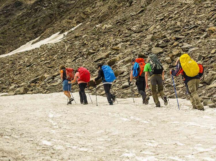 Alpenueberquerung Mit Bergfuehrer