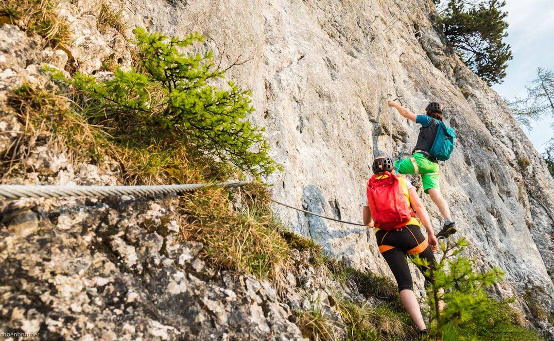Am Klettersteigkurs Watzmann