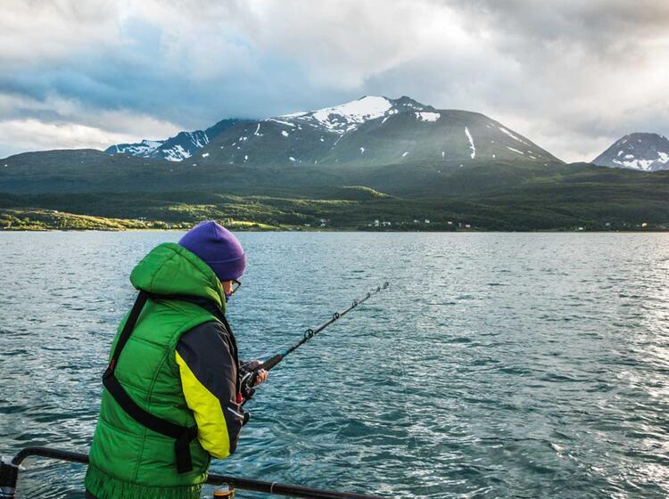 Angeln Bei Der Wanderwoche Norwegen