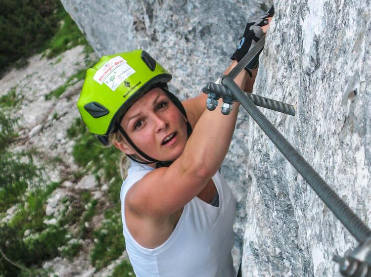 Anspruchsvoller Klettersteig Am Staufen Mit Bergfuehrer