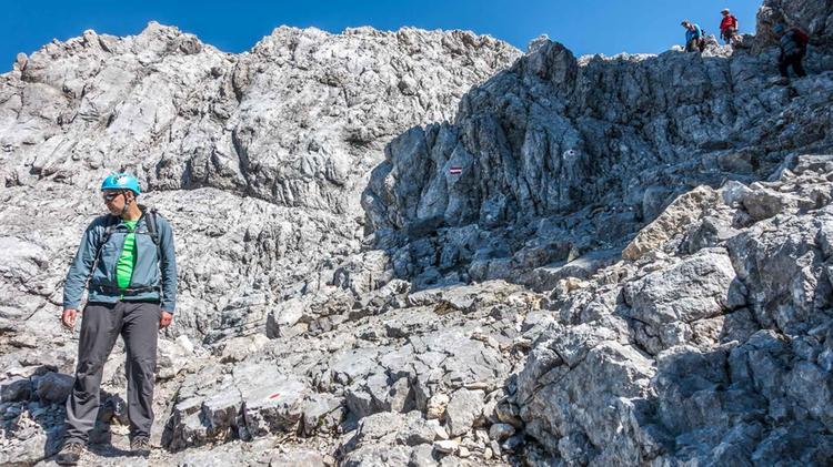 Auf Der Watzmann Ueberschreitung Mit Bergfuehrer