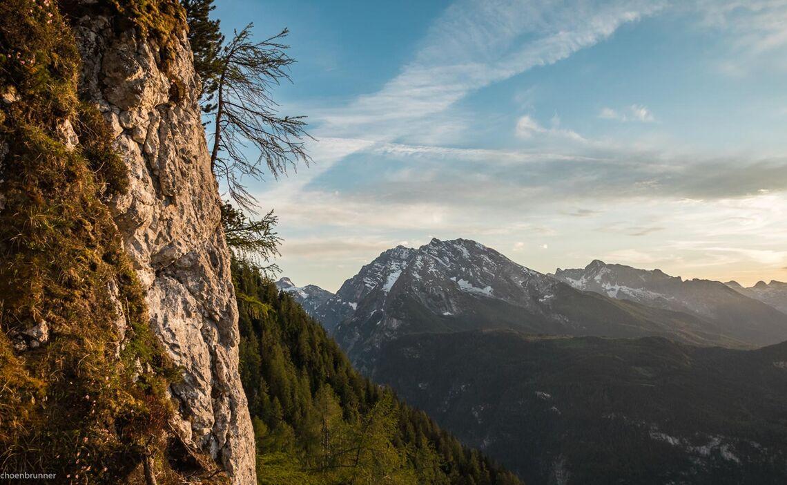 Aussicht Geniessen Am Neuen Klettersteig In Berchtesgaden Laxersteig