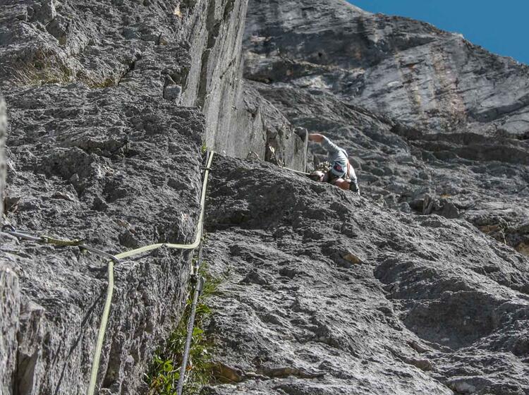 Bergfuehrer Kletterfuehrung Am Gardasee