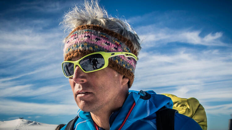 Bergfuehrer Martin Bauregger Auf Hochtour Im Wallis Am Matterhorn