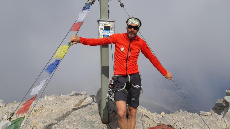 Bergfuehrer Michael Aigner Bei Der Watzmann Ueberschreitung