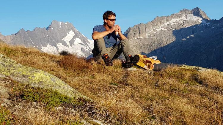 Bergfuehrer Schwarzenberger In Den Berchtesgadener Alpen