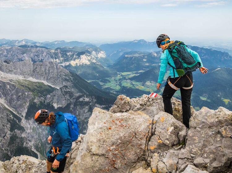 Bergsteigen Und Klettersteig Am Watzmann Mit Bergfuehrer