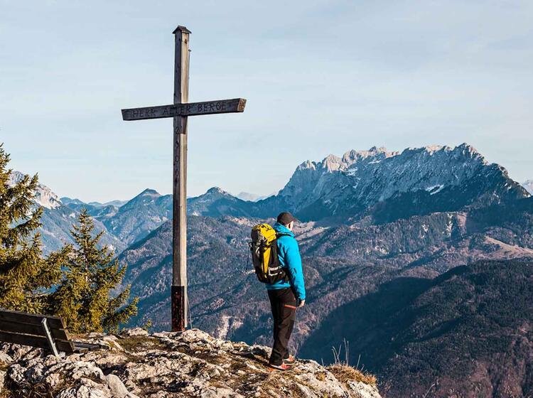 Bergwandern Im Widen Kaiser