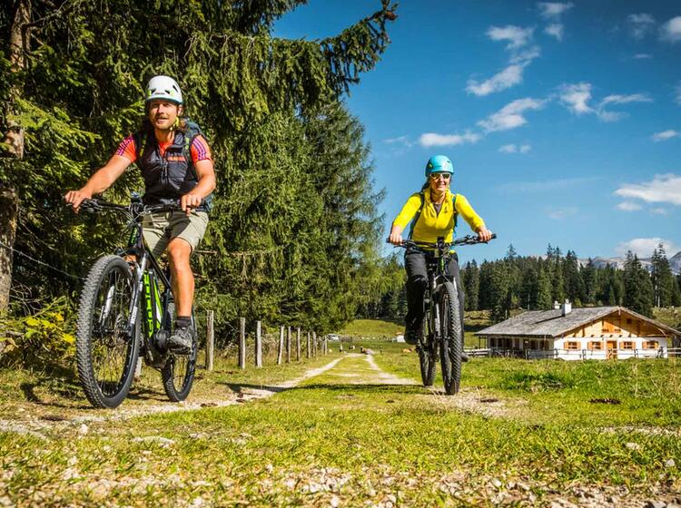 Bike Climb Am Watzmann