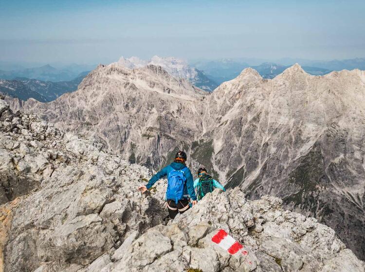 Blick Auf Die Loferer Steinberge Im Berchtesgadener Land 1