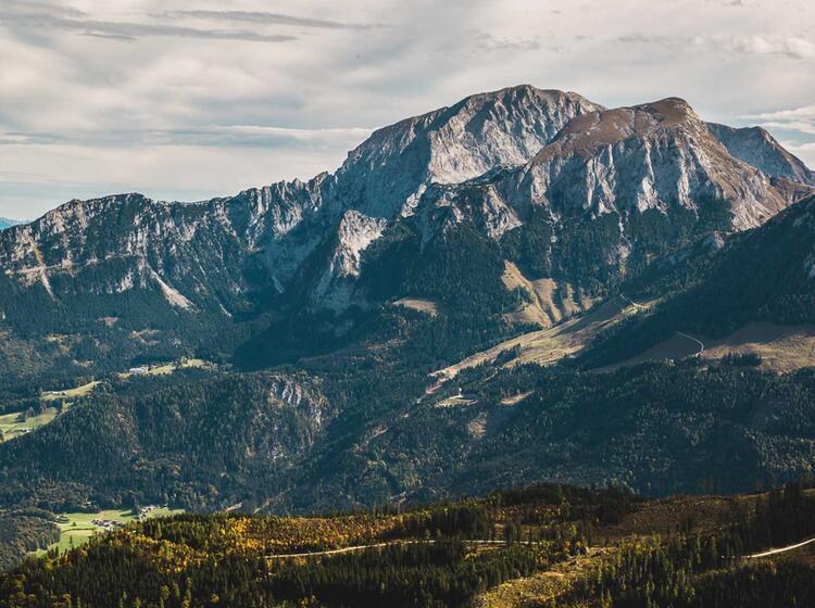 Das Kehlsteinhaus Und Der Hohe Goell Im Nationalpark Berchtesgaden