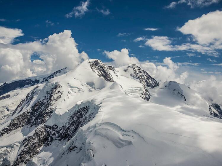 Das Monterosa Massiv Im Wallis