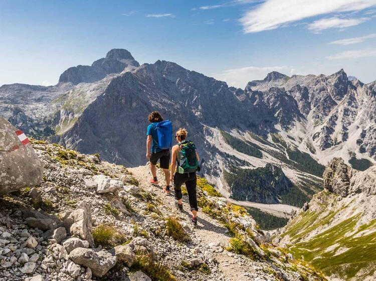 Der Grosse Hundstod Auf Der Wanderung Im Nationalpark Berchtesgaden
