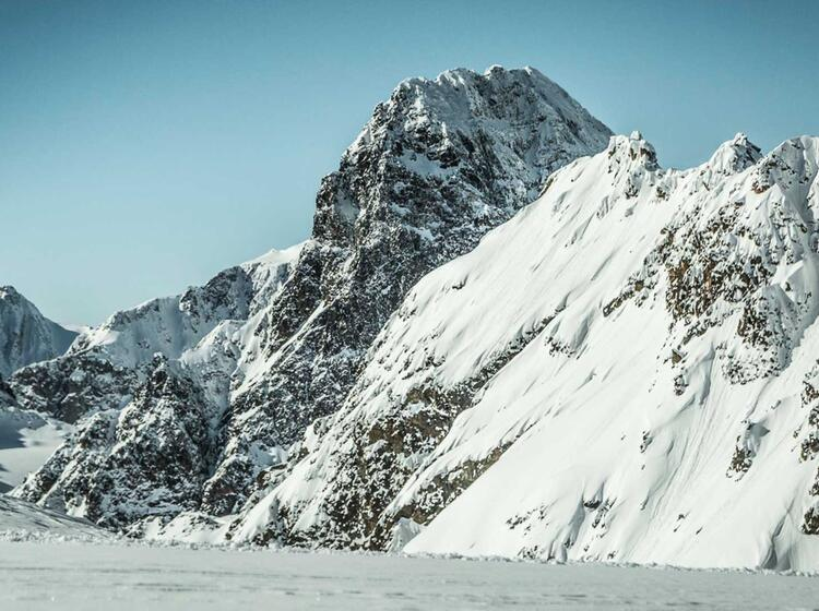 Der Piz Buin Skitouren Ziel Von Der Wiesbadener Hu Tte