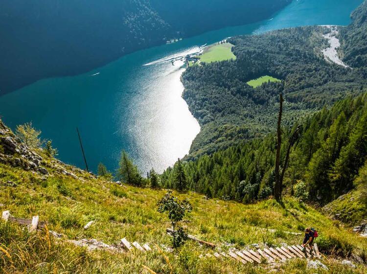 Der Ringkendlsteig Eine Anspruchsvolle Wanderung Vom Koenigssee Bis Kuehroint