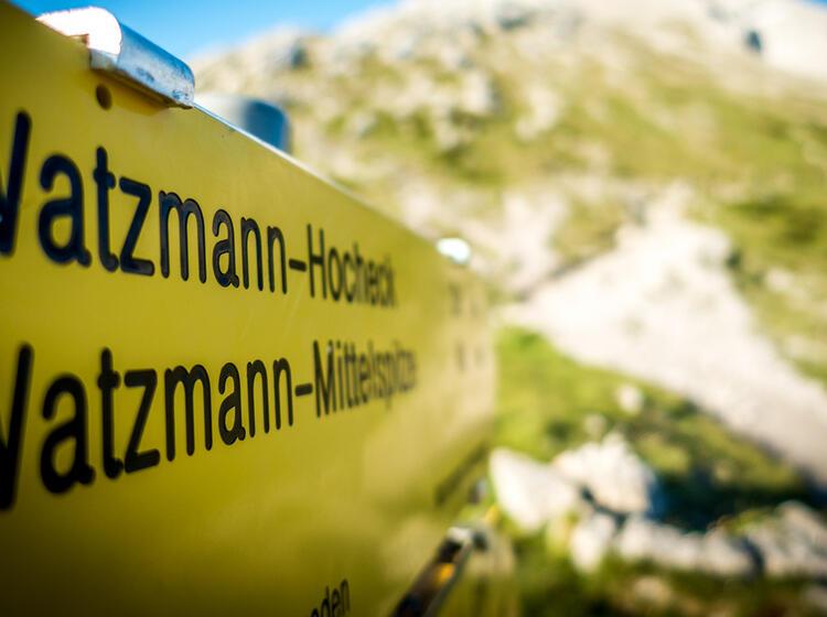 Der Weg Zum Watzmanngipfel