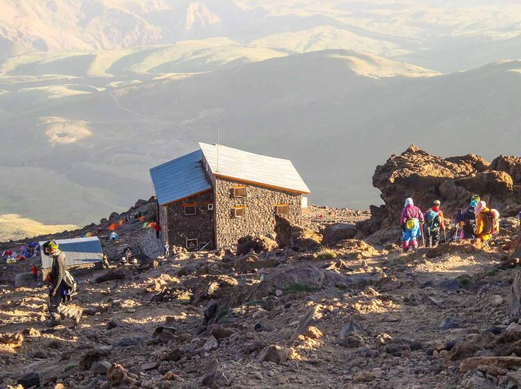 Die Huette Bargah Sewom Im Iran