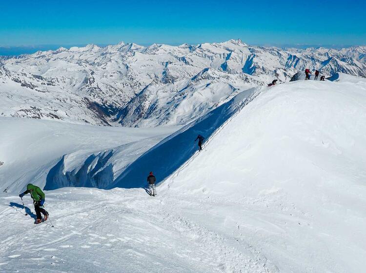 Die Letzten Meter Zum Gipfel Des Grossvenediger