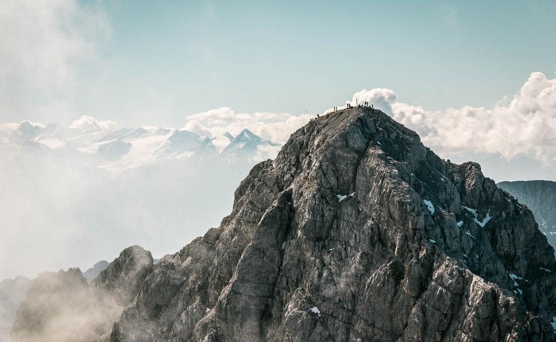 Die Watzmann Suedspitze Und Ostwand