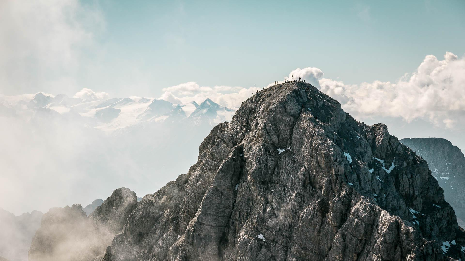 Die Watzmann Südspitze und Ostwand