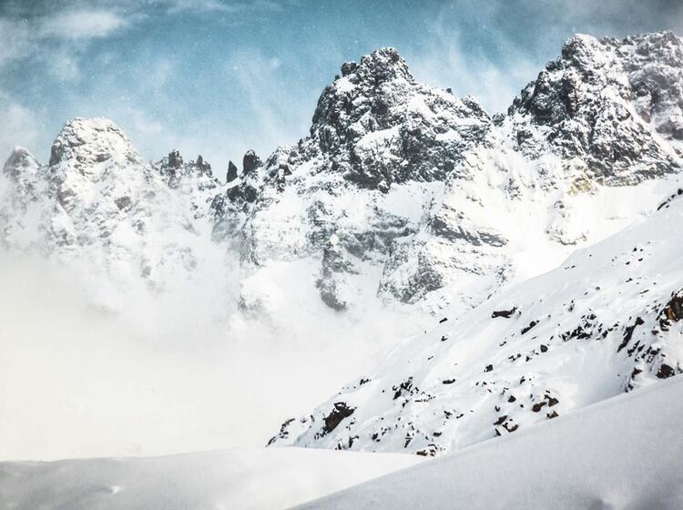 Die Wilde Silvretta Auf Skitour Und Schneeschuhtour