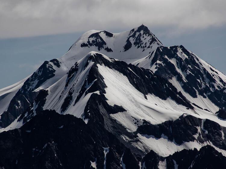 Die Wildspitze Am Hochtourenkurs