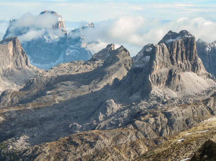 Dolomiten Hoehenweg Mit Bergfuehrer