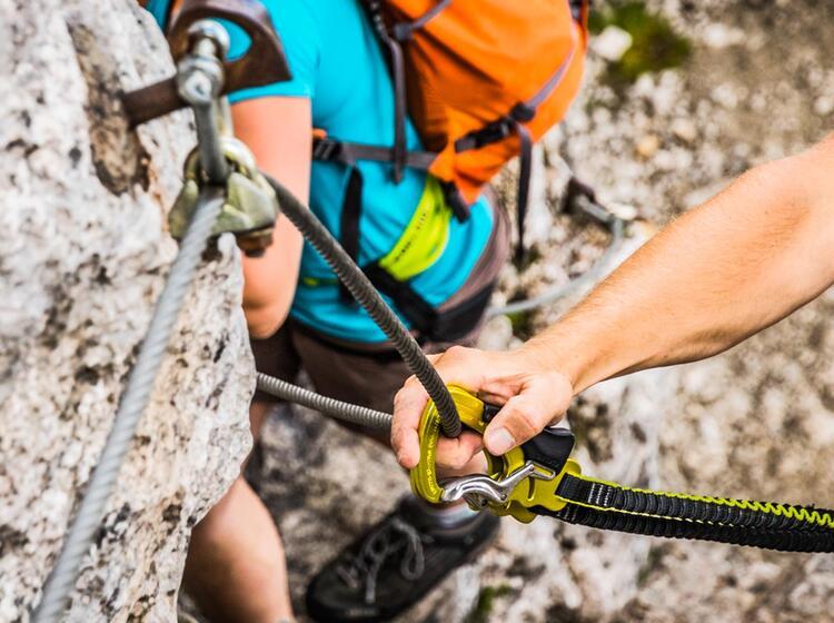 Einfacher Klettersteig Mannlgra Zum Hohen Goell