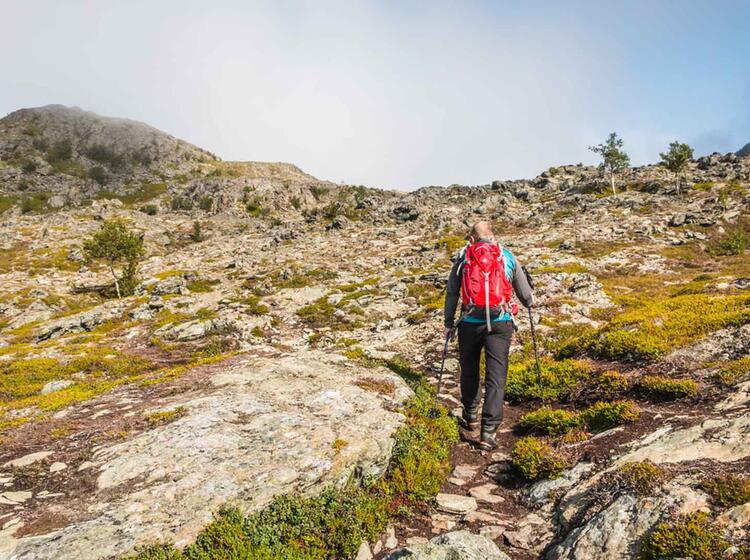 Einsame Wanderwoche Norwegen