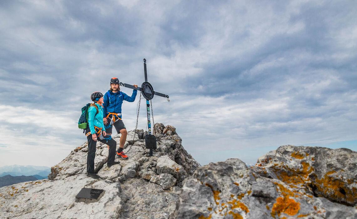 Erstes Ziel Am Watzmann Ist Die Mittelspitze Mit 2713 Metern Hoehe