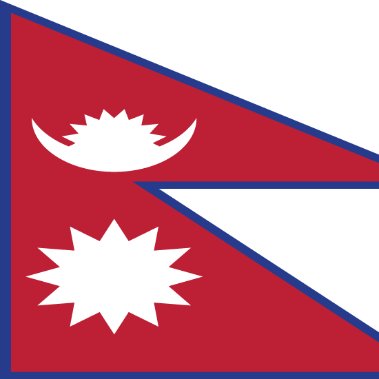 Flagge Nepal