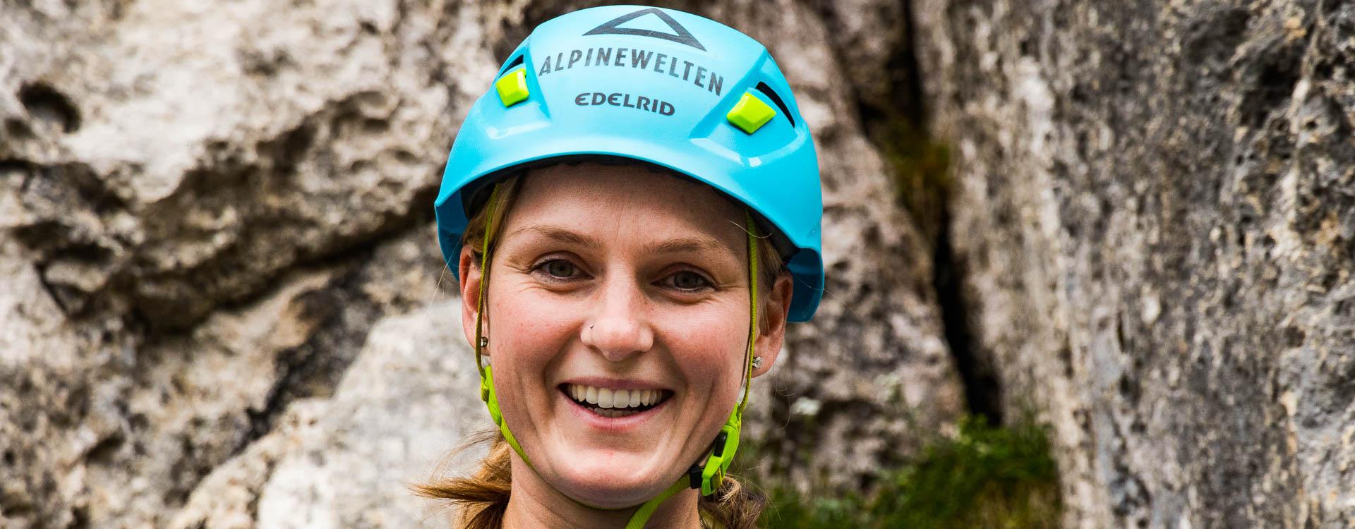 Freude am Klettersteig Kurs fuer Einsteiger in Berchtesgaden