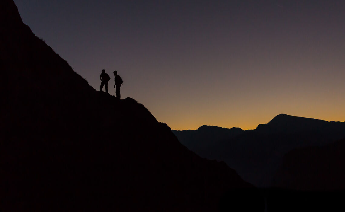 Frueher Aufbruch In Die Watzmann Ostwand