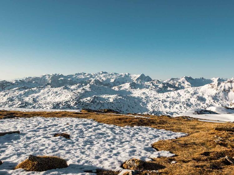 Fruehjahrsskitouren In Berchtesgaden Auf Der Grossen Reibe Und Am Funtenseetauern