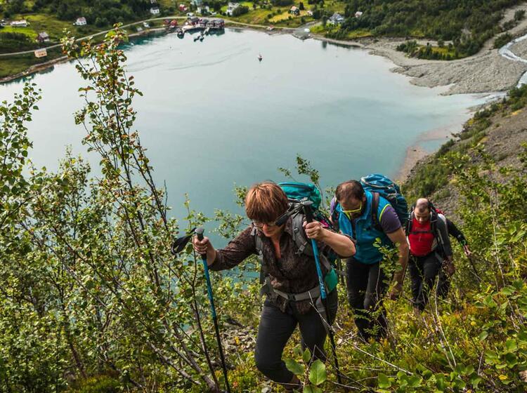 Fuehrung Wandern In Nordnorwegen