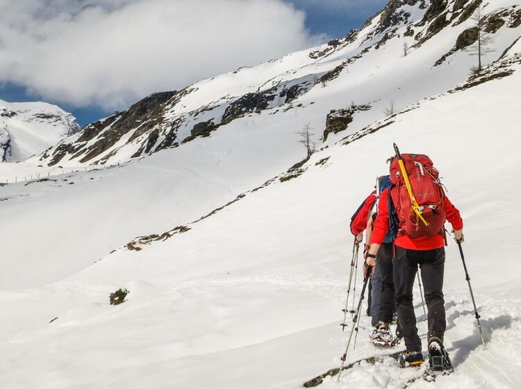 Gefu Hrte Schneeschuhtour Zum Grossvenediger