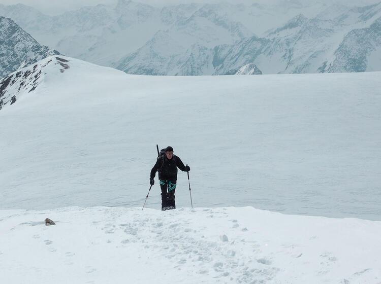 Gefu Hrte Skitour Zum Grossvenediger