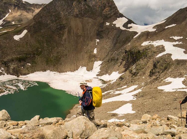 Gefuehrte Alpenueberquerungen