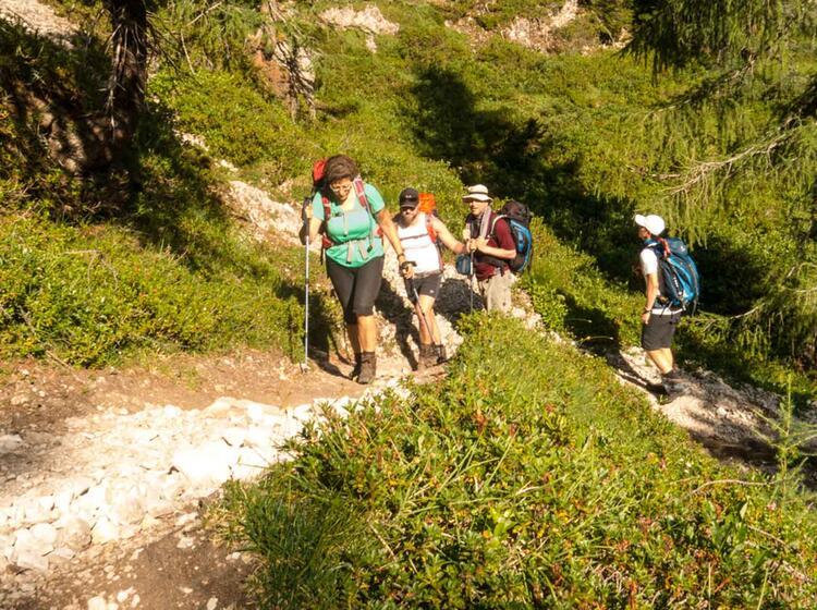 Gefuehrte Bergwanderwoche Im Wilden Kaiser