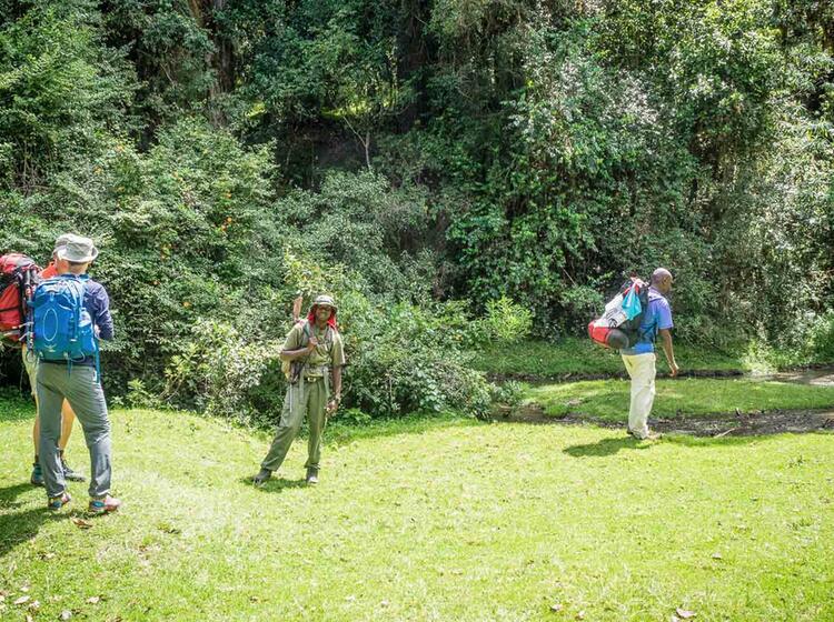 Gefuehrte Trekkingreise Zum Kilimandscharo
