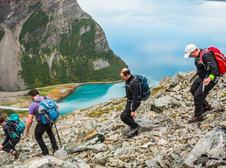 Gefuehrte Wanderung In Norwegen