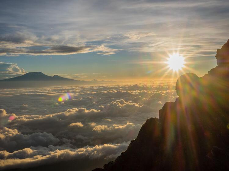 Gefuehrtes Trekking Zum Kilimandscharo Ueber Die Machame Route