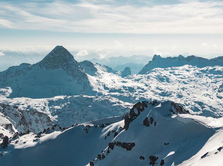 Gipfel Ausblick Vom Funtenseetauern Auf Der Grossen Reibe