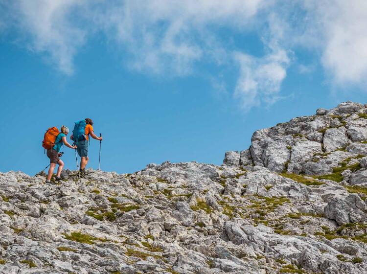 Gipfel Hoher Goell In Berchtesgaden