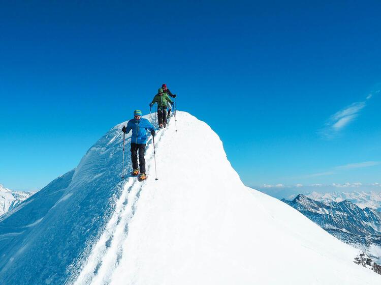Gipfelgrat Am Grossvenediger