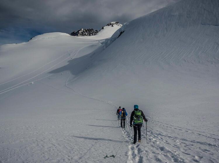 Gletschertour Mit Bergfuehrer