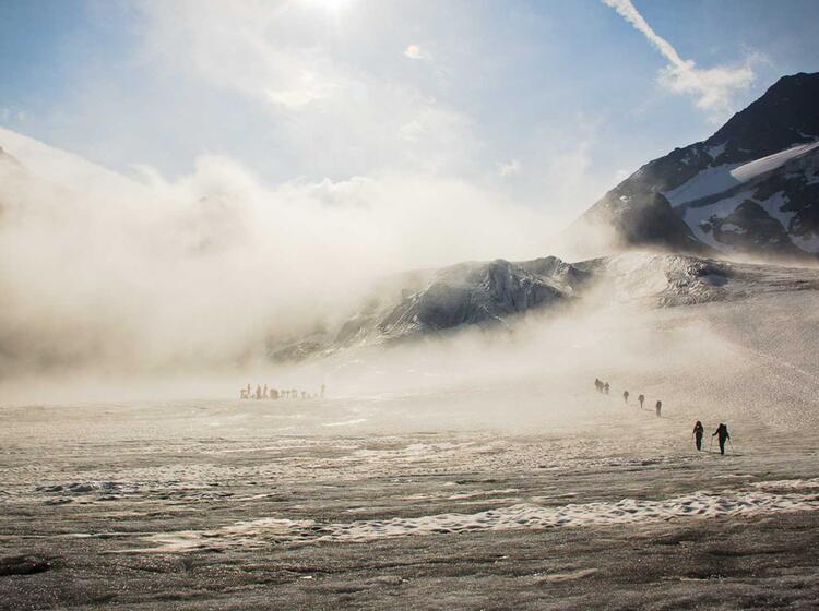 Gletschertour Zur Wildspitze