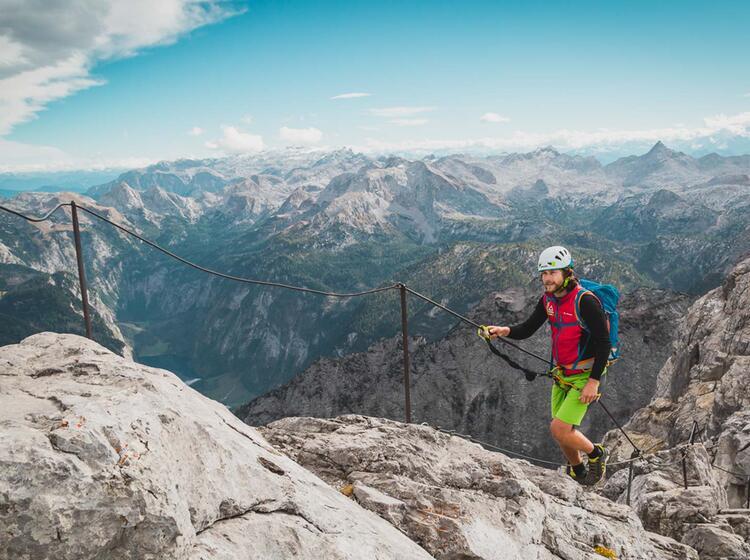 Grossartige Bergtour Ueber Die Gipfel Des Watzmann Auf Der Ueberschreitung